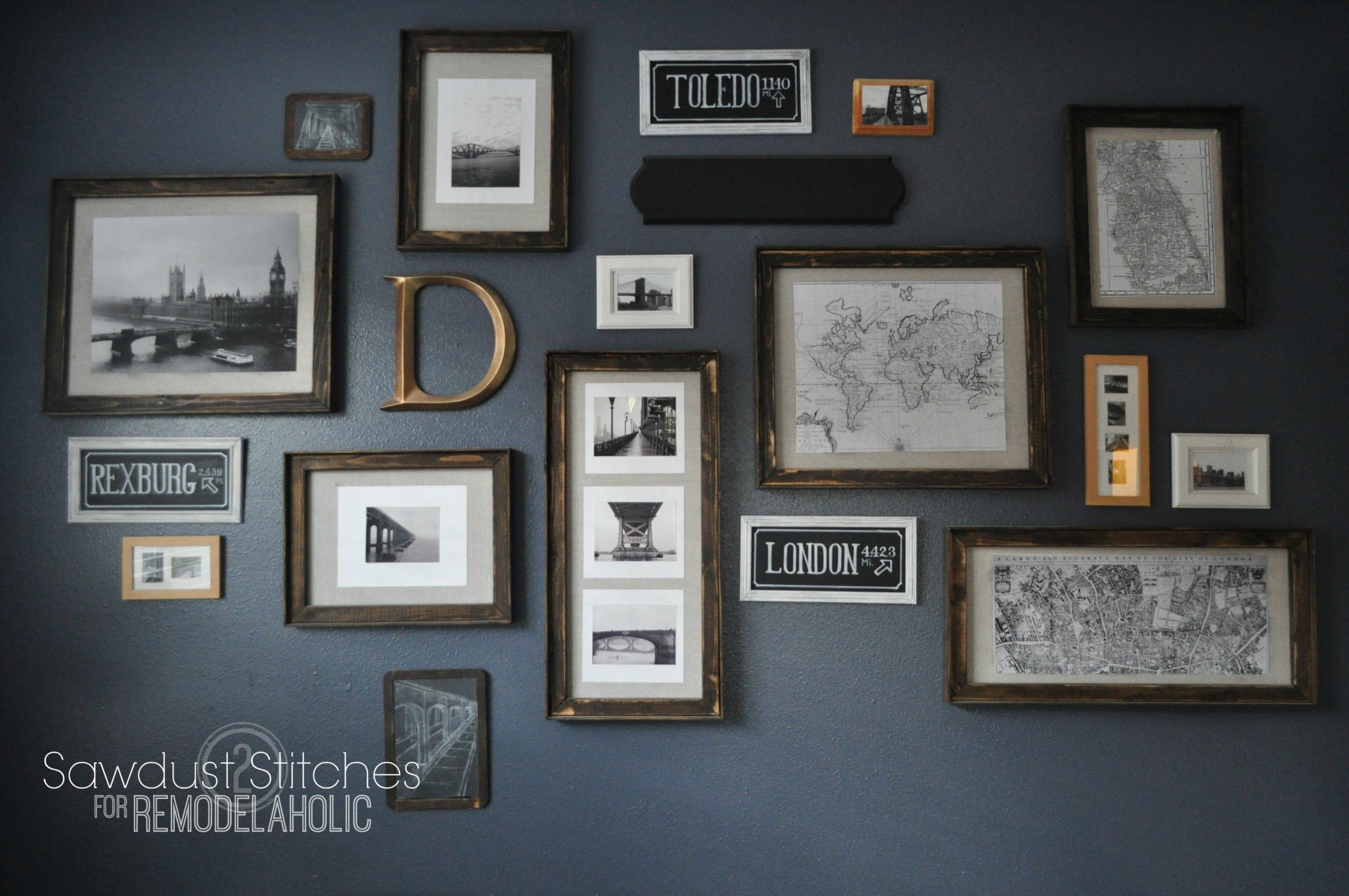 Give Old Picture Frames A Cheap Facelift